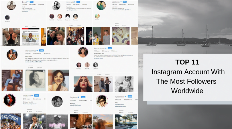 The most followers on instagram 2019