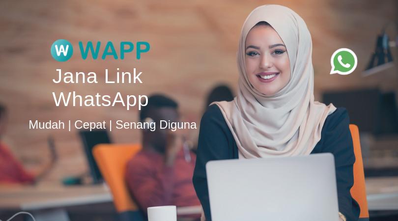 【WhatsApp Link Generator】Cara Mudah Untuk Buat Direct Link - WAPP.MY