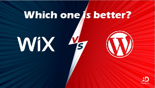 Wix VS WordPress : Which one We recommend?