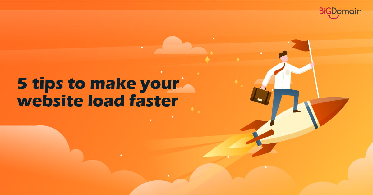 5 tips to make your website load faster