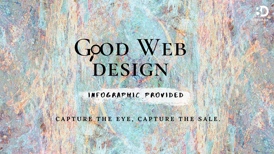 Good Web Design can Capture the EYE, Capture the SALE! (Infographic)