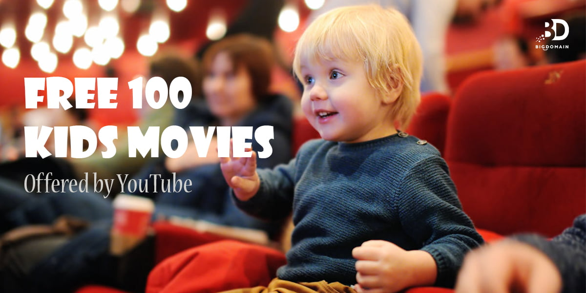 Free 100 kids movies and specials offered by YouTube
