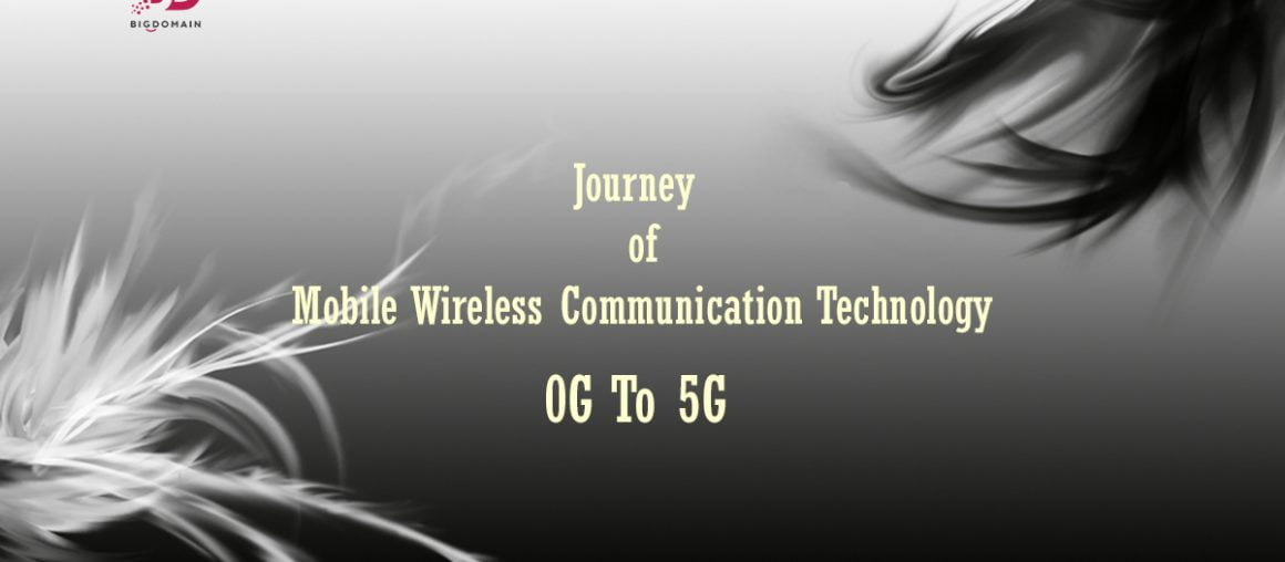 The Journey of The Mobile Wireless Communication Technology, Starts from 0G to 5G.