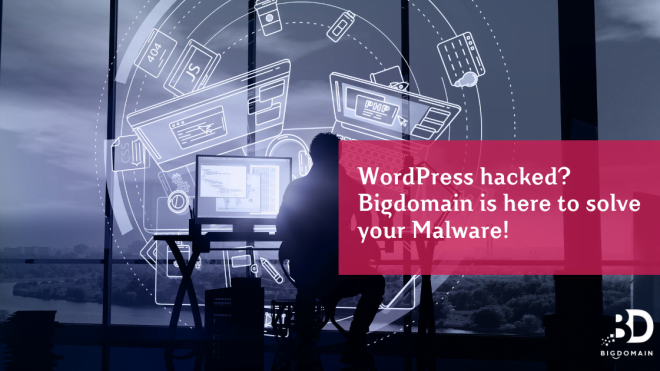 WordPress hacked? Bigdomain is here to solve your Malware!