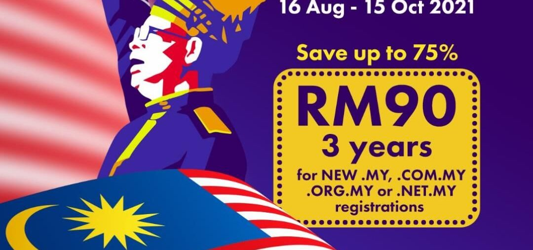 Merdeka Promo - .MY - RM90 Only 3 years. Dont Miss it